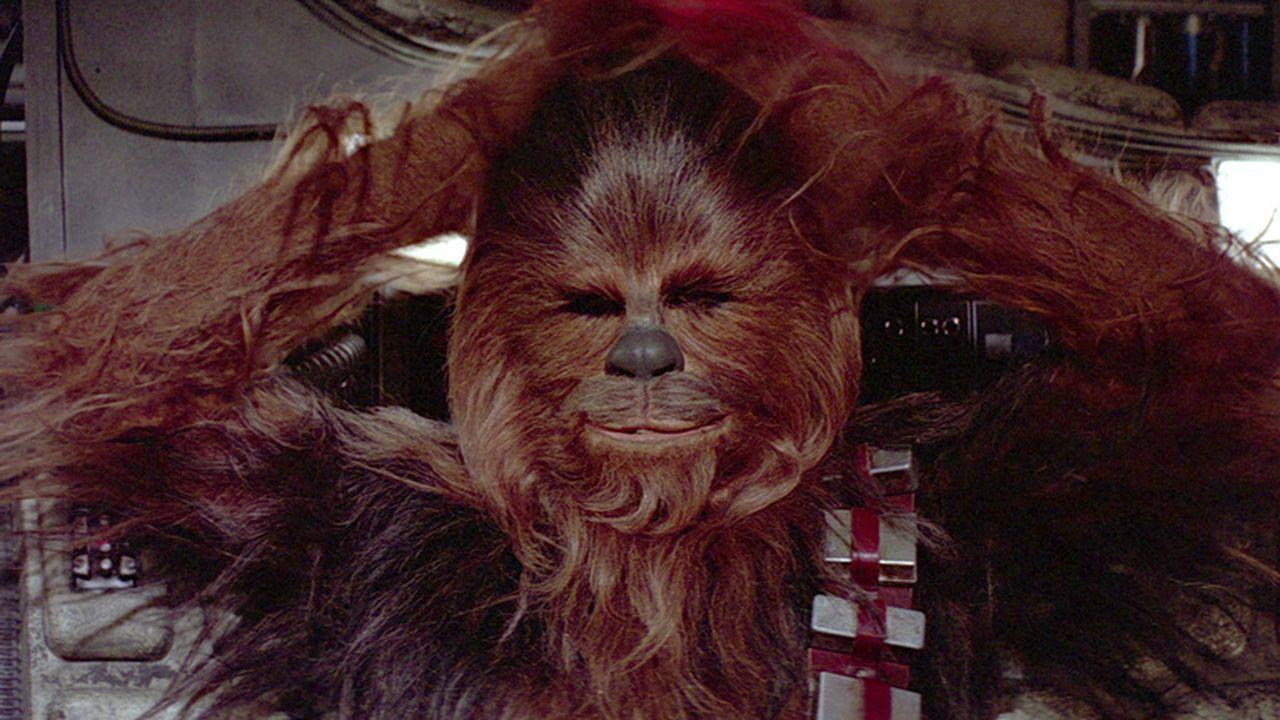 Chewbacca in Episode IV.
