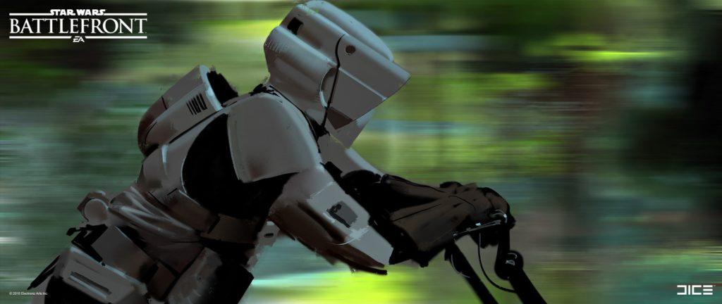 Concept art for Battlefront (endor)