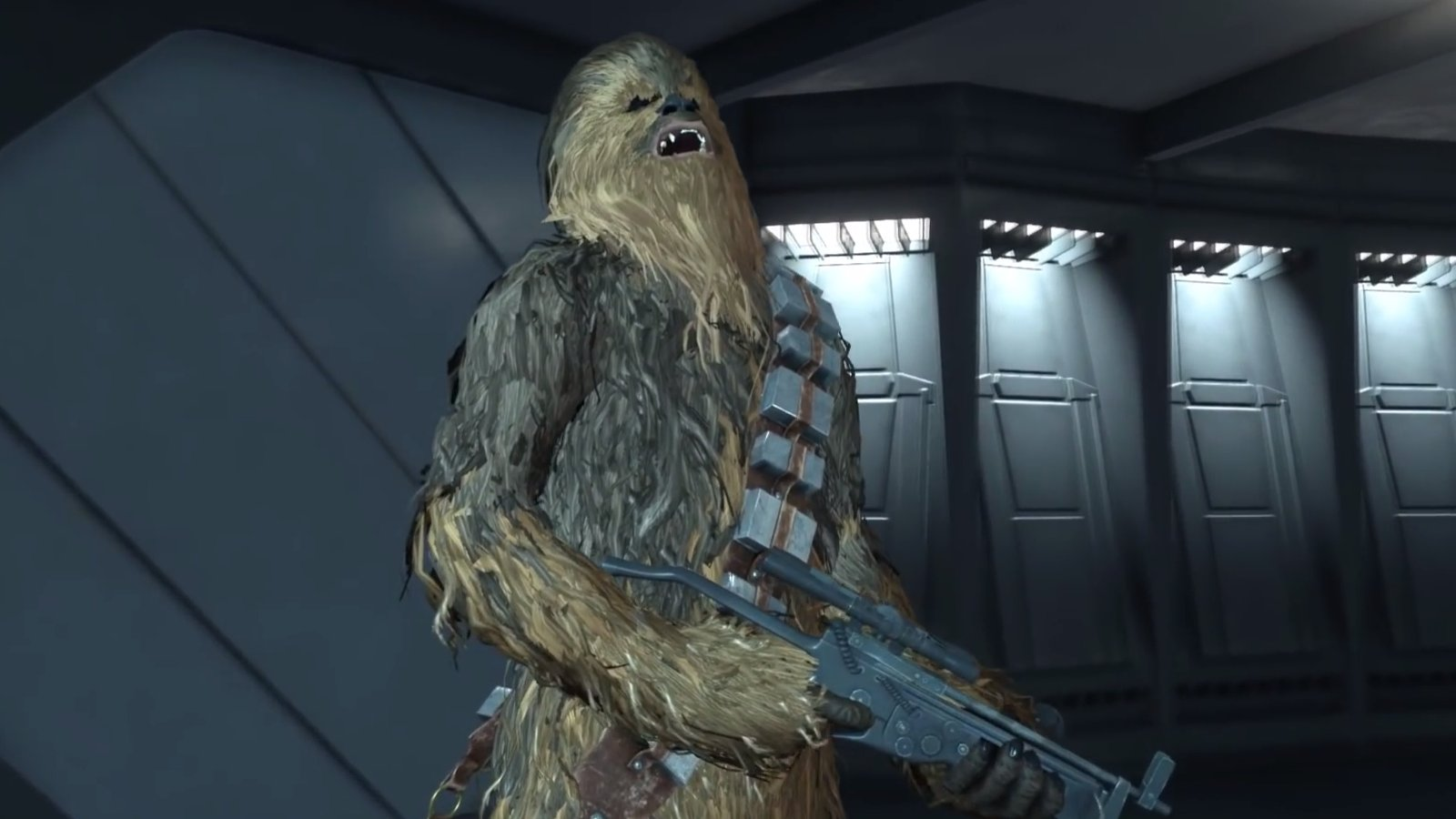 Chewbacca in Battlefront.