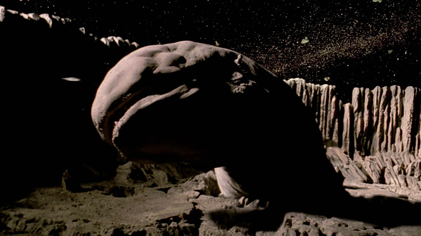 Space slug in Star Wars.