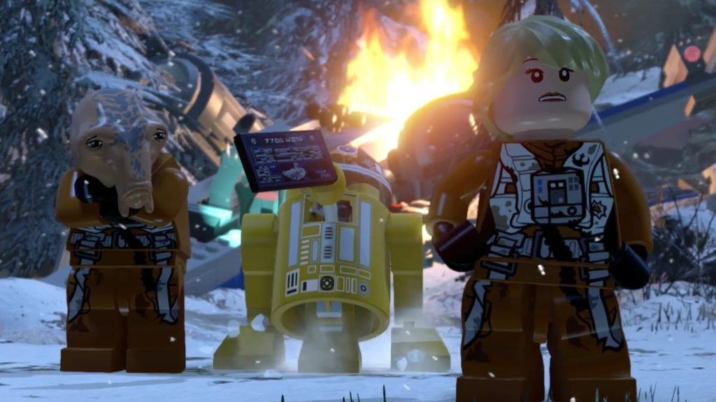 Escape from Starkiller Base in final LEGO Star Wars DLC – The Star ...
