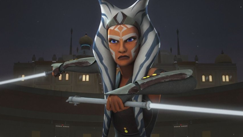 Ahsoka Tano in Star Wars Rebels.