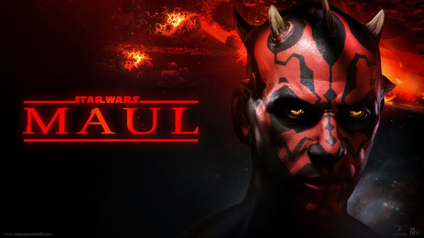 Key art concept for the cancelled Darth Maul game.