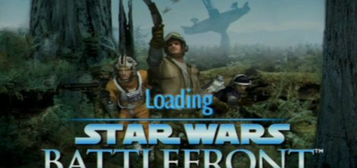 Load screen from an original Battlefront alpha demo build.
