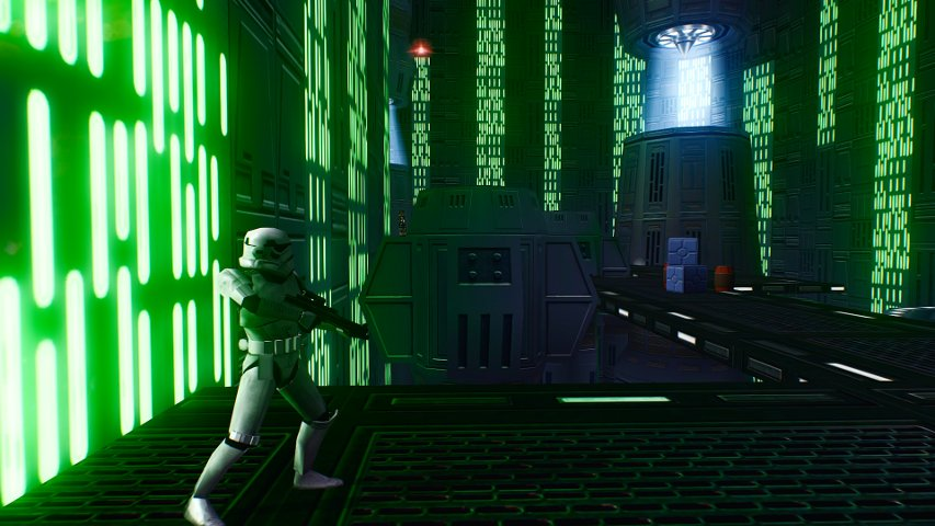 Image From Harrisonfogs Rezzed Death Star Project For Battlefront II