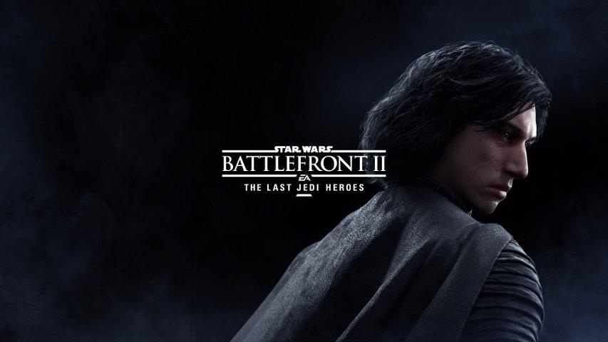 Kylo Ren in Battlefront II.