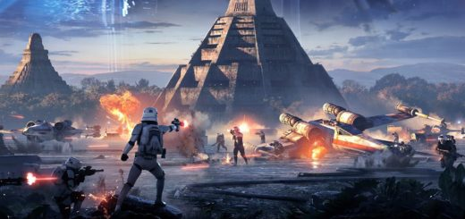 Yavin IV from the Battlefront II key art