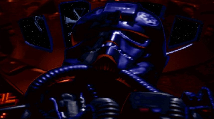 Image from the TIE Fighter PC game.