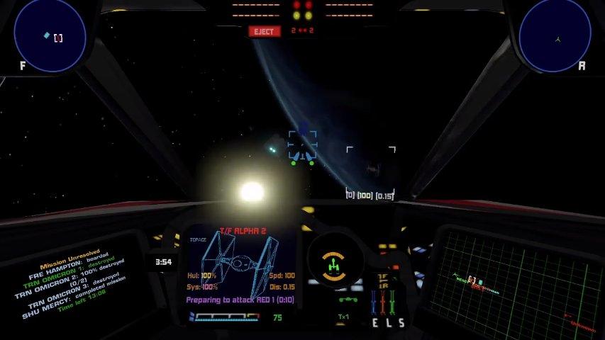 Screenshot from the latest XWVM video.