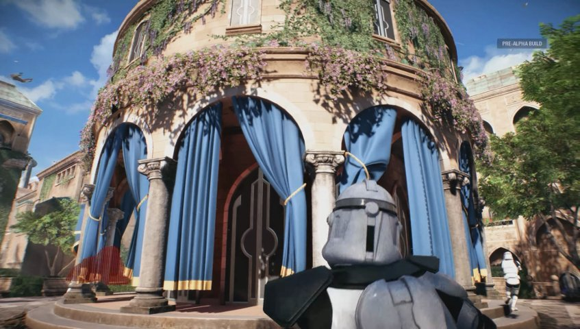 Battlefront II 4K screenshot in a video by Star Wars HQ.