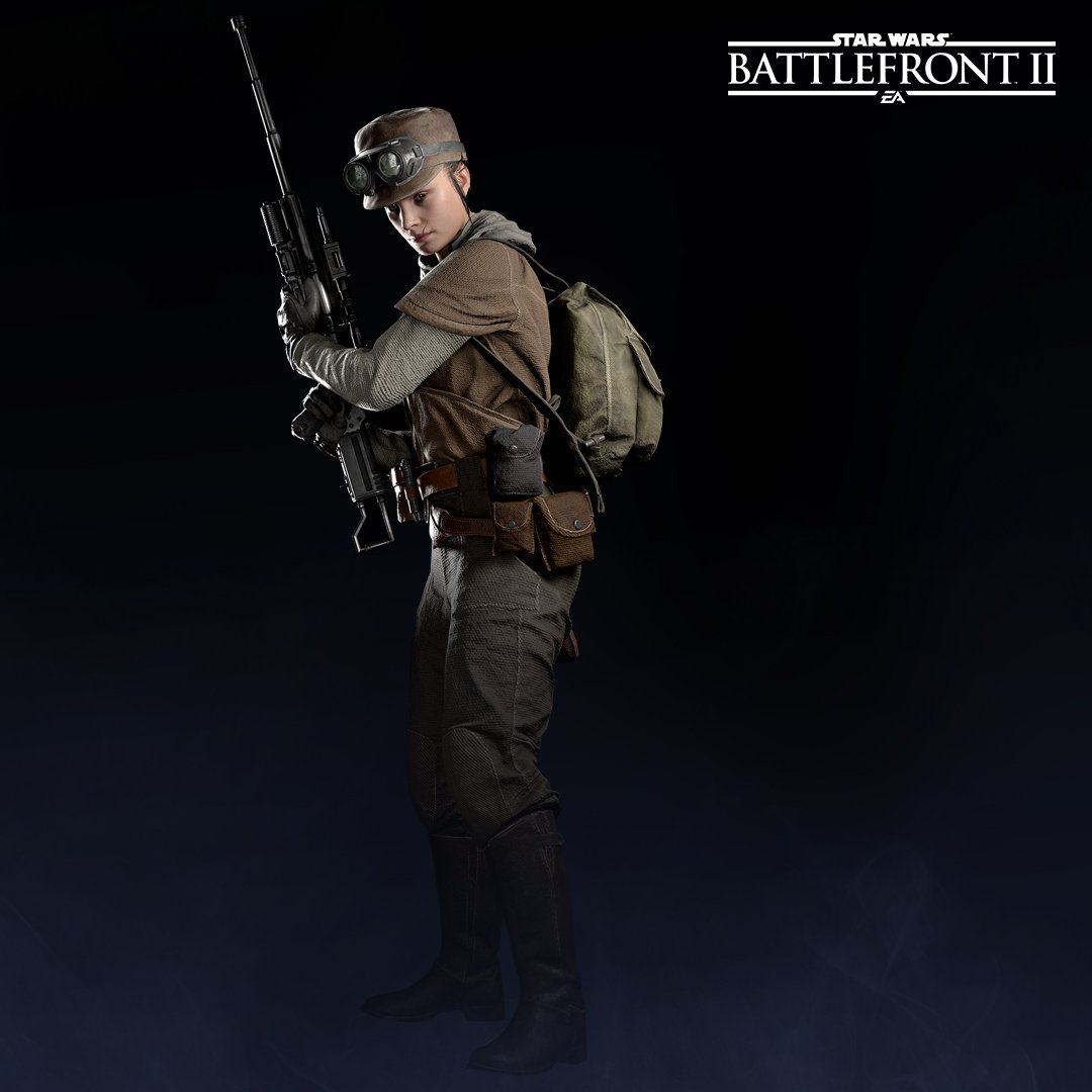 Resistance Specialist Class Units Will Look Like In Battlefront II The Rebel Trooper Is At Top Of Page While Variant Below